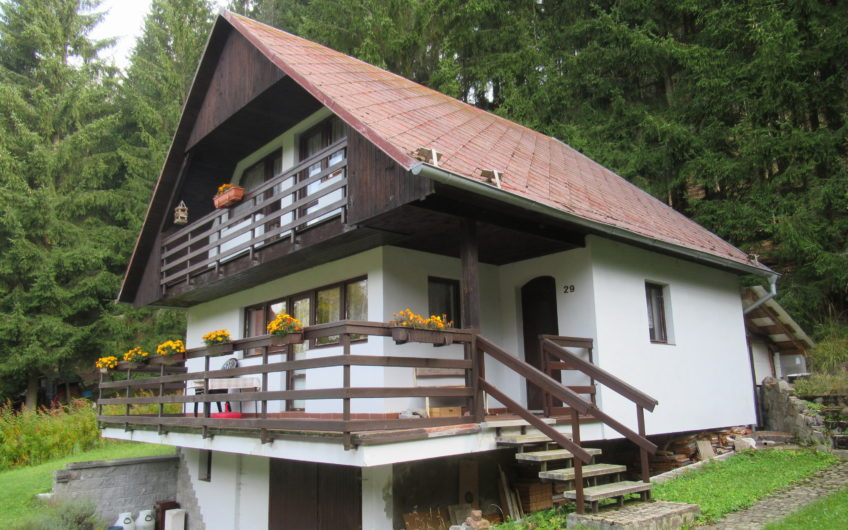 Rekreační chata v chráněné krajinné oblasti Slavkovský les